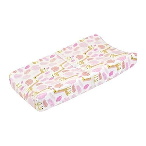 Just Born Changing Pad Cover, Jungle, (Jungle Furniture)