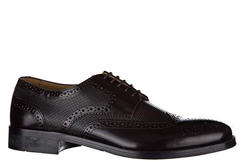 Armani Collezioni / Jeans scarpe stringate classiche uomo in pelle nuove derby m