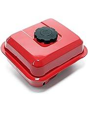 WilTec Reserveonderdeel Benzine Benzine Motor rode brandstoftank voor 6,5 pk