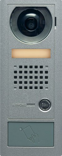 Aiphone Corporation AX-DV-P Card Access Video Door Station for AX Series, Aluminum Die Cast, 3-15/16