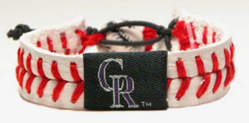 Colorado Rockies Classic Baseball Bracelet ()