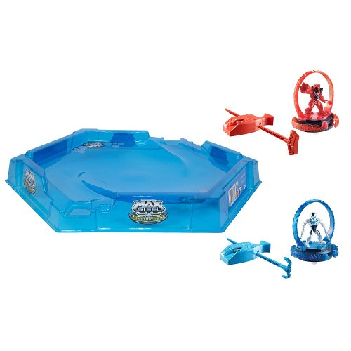 Max Steel Turbo Battlers Arena and 2 Turbo Battlers