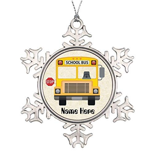 Monroe Valentine Gift Bus Driver Pictures Spiritual Funny Snowflake Ornament Ideas Decorating Christmas Trees Presents