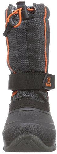 Cha Unisex Length Lined Kids' Warm Kamik gris Half Snow Charcoal Boots Mehrfarbig CARVER2 Multicolour Afqwdx1xnO
