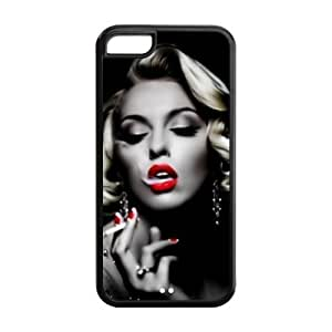 Creative Age Case, Marilyn Monroe Hard Plastic Back Cover Case for Iphone 5C hjbrhga1544