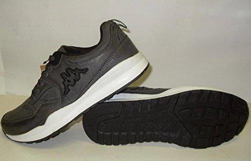 Kappa Dares Zapatillas Para Hombre Piel Sintética, Color Gris gris
