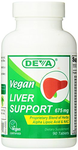 Vegetarian Supplements: Deva Nutrition Vegan Liver Support 675 mg, 90 tablets For Sale