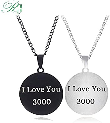 You Necklace 4 Necklaces Keyring Women Men Party Gifts