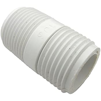 lasco pvc hose adapter with 34inch male hose thread