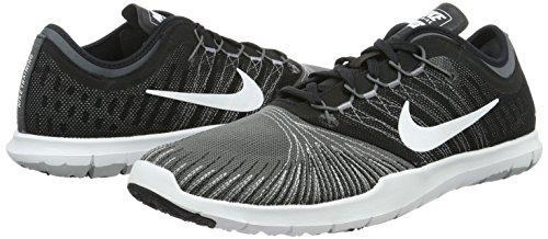Tr gris Donna Grey Da Grigio dark black Ginnastica Wmns Flex stealth White Adapt Scarpe Nike t0zqPx