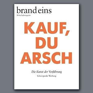 brand eins audio: Werbung Hörbuch