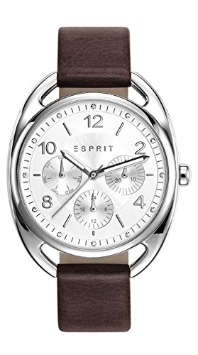 Esprit Watch Annie Brown - ES108172001-Brown - calfskin-Round - 36 mm
