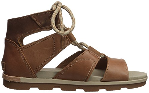 Sorel Torpeda Lace II, Spartiates Femme Marron (Camel Brown, Ancient Fossil 224)