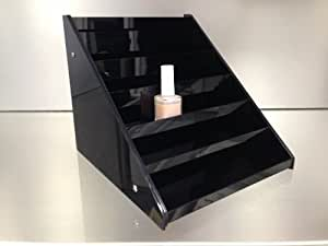 Nail Polish Table Rack Display (Hold Up To 36 Bottles) *BLACK COLOR*
