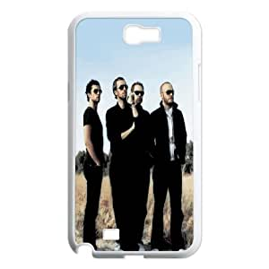 Coldplay Samsung Galaxy N2 7100 Cell Phone Case White LMS3875307