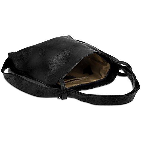 Caspar man dos à Noir pour sac en et 1 à femme Sac sac TL786 2 HOzwrxqH