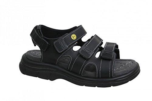 Sanita , Chaussures de sécurité pour femme Noir Noir