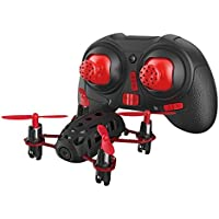 HUBSAN H111C Nano Q4 4-Channel 6 Axis Gyro RC Quadcopter with 2.4Ghz Radio System Mode 2 RTF- Carton Case Black