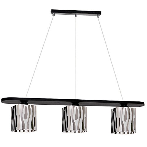 Handel lámpara de techo E27 luces LED Valencia 7: Amazon.es ...