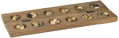 Wooden Mancala Board Game - Wood Mancala