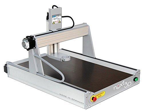 CNC Fräse Fräsmaschine Graviermaschine Next3D Größe M Bausatz - Made in Germany, mit USB Steuerung und Software! Arbeitsbereich B330xL500xH110 mm
