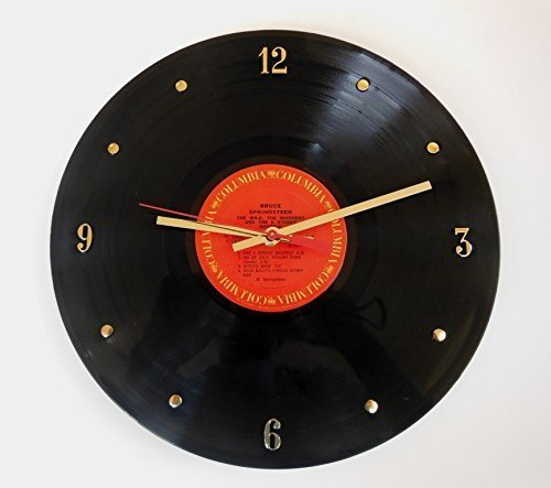 bruce-springsteen-vinyl-record-clock-the-wild-the-innocent-and-the-e-street-shuffle-handmade-12-wall