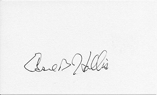 Essie Hollis Signed Index Card Detroit Pistons St. Bonaventure University - NBA Cut Signatures ()