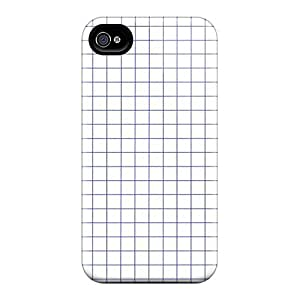 New Arrival Graph Paper For Iphone 4/4s Case Cover