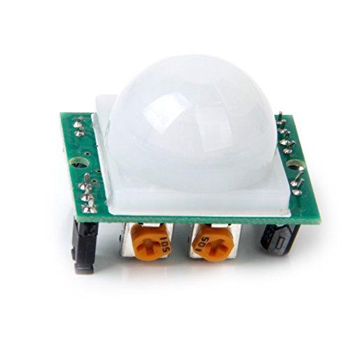 DYP-ME003 Piroeléctrico Pir Módulo De Sensor De Detector De Movimiento Por Infrarrojos: Amazon.es: Electrónica