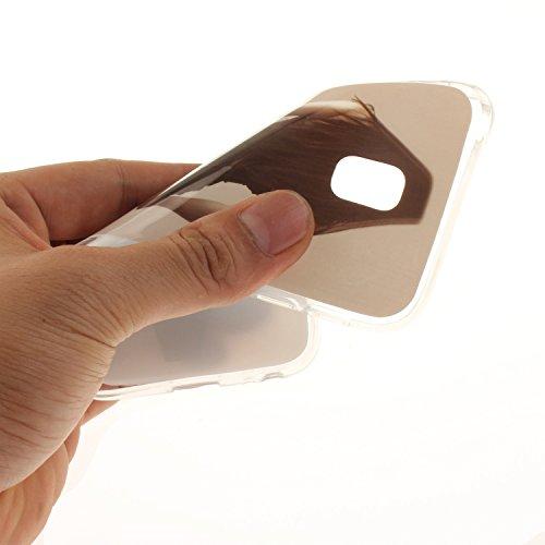 Arrière Cas Galaxy Bord Résistant Silicone Couverture Hozor Slim Transparent J3 Scratch Souple Samsung Cas Peint De Téléphone J330 En Motif 2017 Antichoc TPU beauty Fit Protection De OHAqwSH