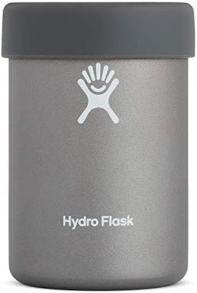 Hydro Flask Can Cooler Cup - Stainless Steel & Vacuum Insulated - Removable Rubber Boot - 12 oz, Graphite