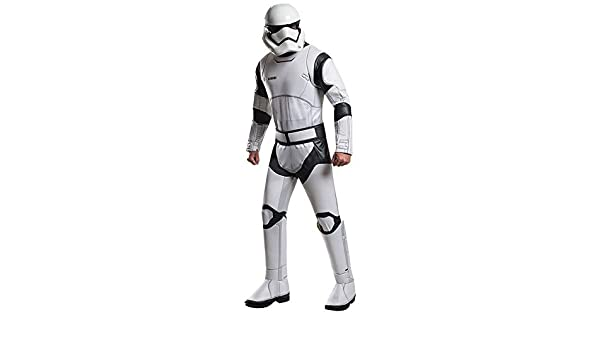 Disfraz adulto Deluxe Stormtrooper Blanco Star Wars VII: Amazon.es ...