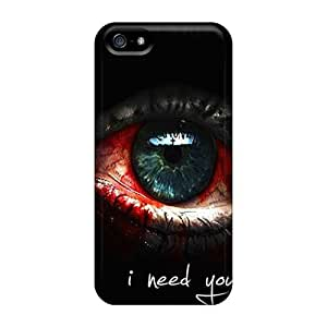 Tpu DaMMeke Shockproof Scratcheproof I Need You Hard Case Cover For Iphone 5/5s