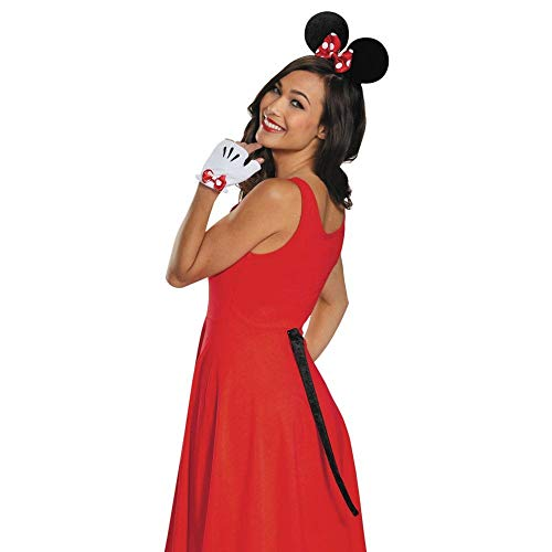 Minnie Mouse Gloves Ears and Tail]()