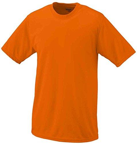Augusta Sportswear 790 Adult's Wicking T-Shirt Power Orange Large