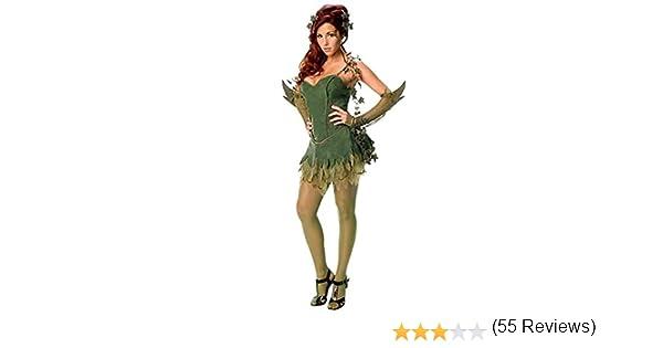 Disfraz de Poison Ivy para mujer: Amazon.es: Juguetes y juegos