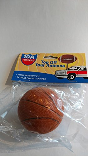 BASKETBALL ANTENNA TOPPER - 1 3/4 - Spot your car from afar STEM