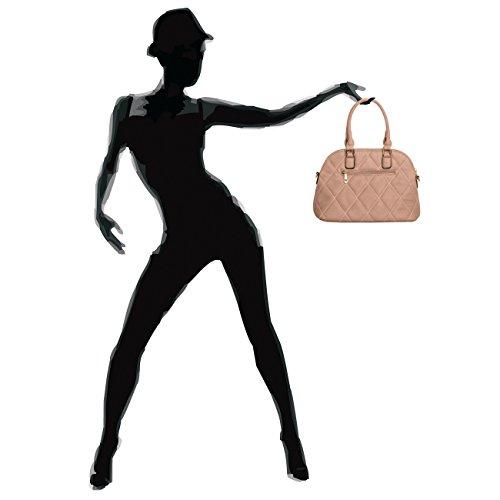CASPAR Fashion - Bolso de asas para mujer - beige camel