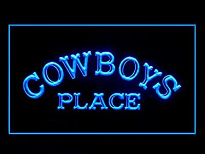 C B Signs Cowboys Place LED Sign Neon Light Sign Display