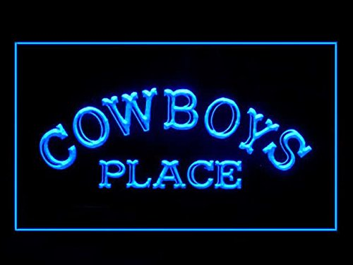 - C B Signs Cowboys Place LED Sign Neon Light Sign Display