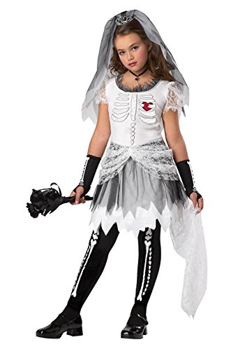 [California Costumes Skela-Bride Costume, Small] (Gothic Bride Halloween Makeup)