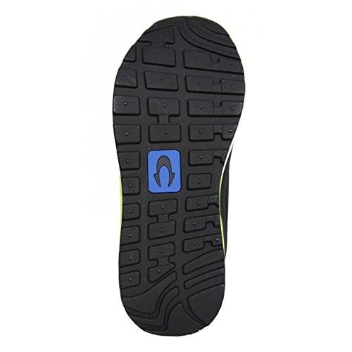 John Smith Sportschuhe Für Junge und Mädchen und Damen RESO M JR 15I Negro-Verde Schuhgröße 39
