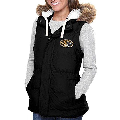 製造前進ドライブFanatics Branded Missouri Tigers Women's Yukon Vest - Black アウターウェア ジャケット/アウター 【並行輸入品】