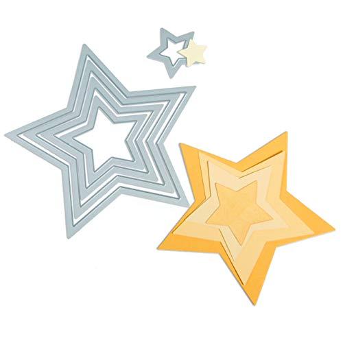 - Sizzix Framelits Die Set 5/PK - Stars