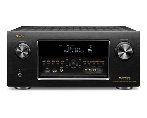 Denon DENON AVRX7200WA In-Command 1350W 9.2-Ch. 4K Ultra HD and 3D Pass-Through A/V Home Theater Receiver Black