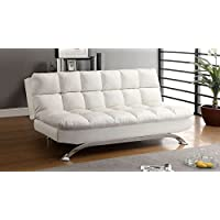 247SHOPATHOME Idf-2906WHT Futons, Twin, White