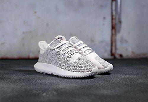 adidas Nero Shadow Running Uomo Scarpe Tubular Knit Bianco vr4wqv0