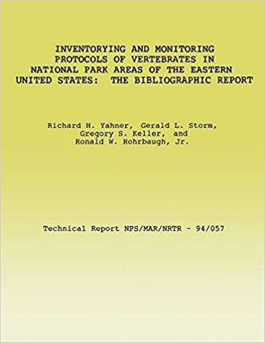 Inventorying and Monitoring Protocols of Vertebrates in