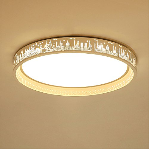 Lilamins Round Ceiling Light Led Creative Children'S Room Ceiling Lights for Hallway, Aisle, Porch, BedroomCeiling Lights for Hallway, Aisle, Porch, Bedroom,450Mm Lamps & Lighting Fixtures by Lilamins