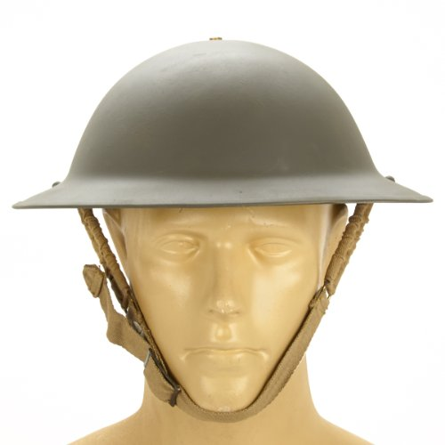Original WWII Dated British Brodie Steel Helmet in for sale  Delivered anywhere in USA